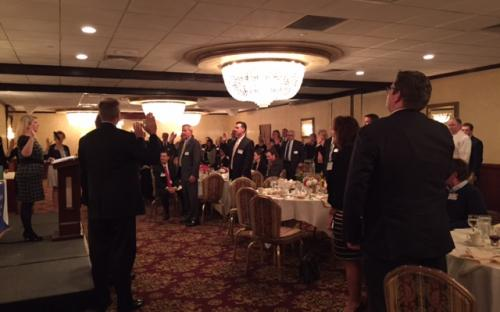 Chartered Property Casualty Underwriters Reciting the Oath